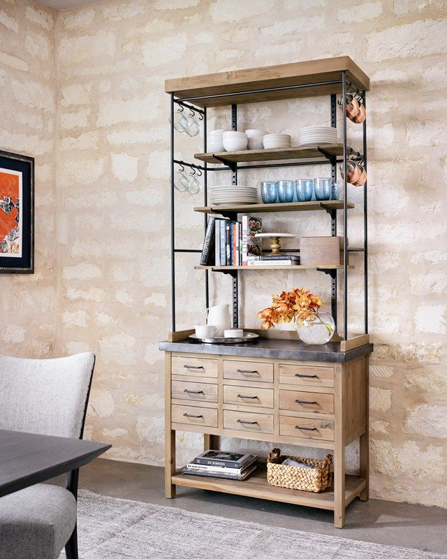Four Hands - Ginger Bookcase