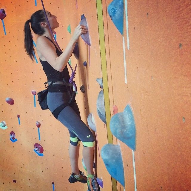 Gal Gadot Rock Climbing With The One And Only Mark Twight