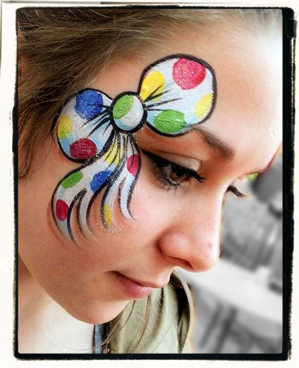 Bow face paint                                                                                                                                                                                 More