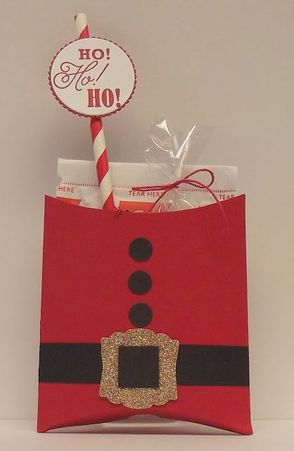 This is the treat I made for Dalton and Ava to give to their teachers. It contains a hot chocolate packet, a Hershey Bar, and a small ba...