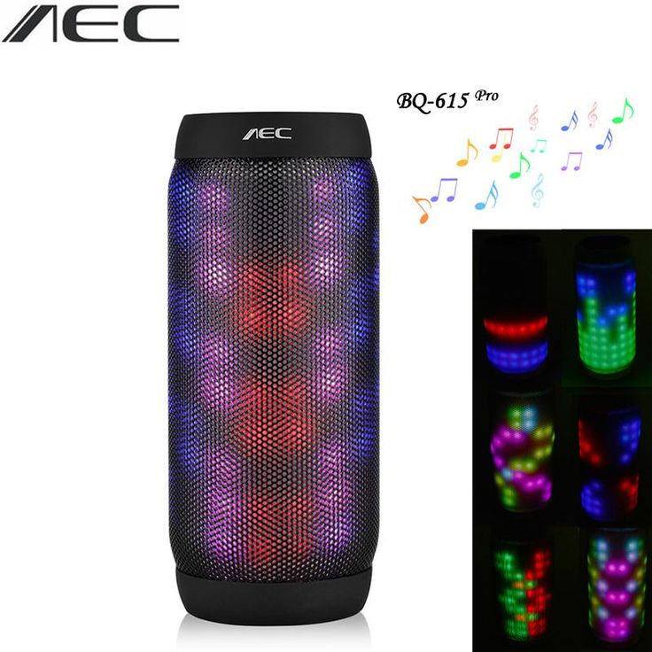 Bluetooth Speaker AEC LED Stere Support TF Card FM Radio Wireless NFC Super Bass. Playback Function: Other,MP3,RadioFrequency Range: 20Hz-2KHzCommunication: WirelessOutput Power: OtherSupport Apt-x: NoBrand Name: AECSpeaker Classification: Pure SubwooferSpeaker Structure: CatheterIntelligent Personal Assistant: NoneRemote Control: NoMaterial: PlasticFeature: AIRPLAYSupport Memory Card: YesWireless Type: NFC,BluetoothChannels: 2 (2.0)Audio Crossover: Full-RangeSupport APP: YesSpeaker Type…
