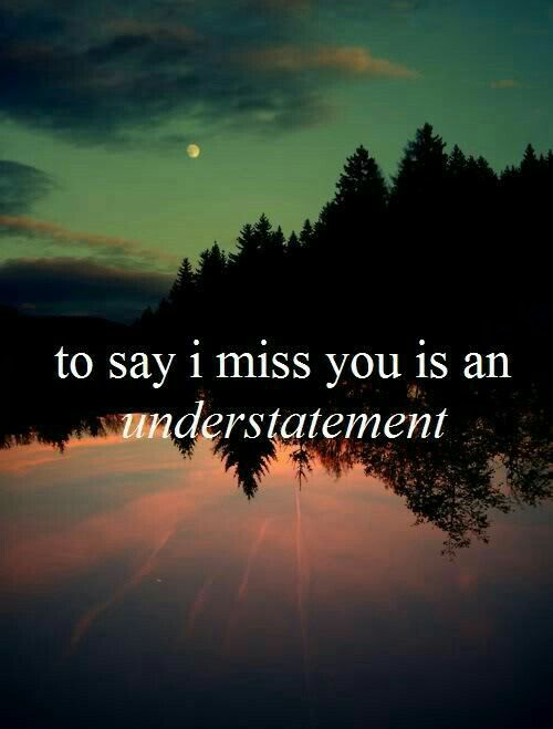 so many people come to mind.. my daughter, my best friend, my grandma.. i'm so tired of missing the people i love most..