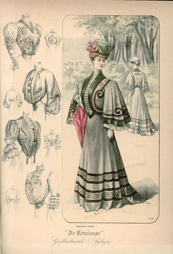 Gracieuse. Geïllustreerde Aglaja, 1905, aflevering 16, pagina 192/1