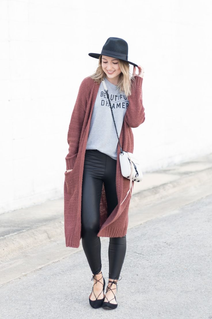 Best 25  Long cardigan outfits ideas on Pinterest | Cardigan ...