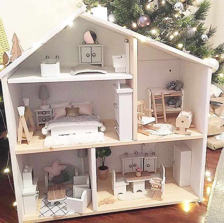 die besten 25 ikea dollhouse ideen auf pinterest diy puppenhaus modernes puppenhaus und. Black Bedroom Furniture Sets. Home Design Ideas
