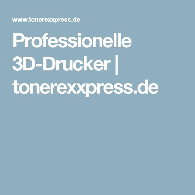 Professionelle 3D-Drucker | tonerexxpress.de