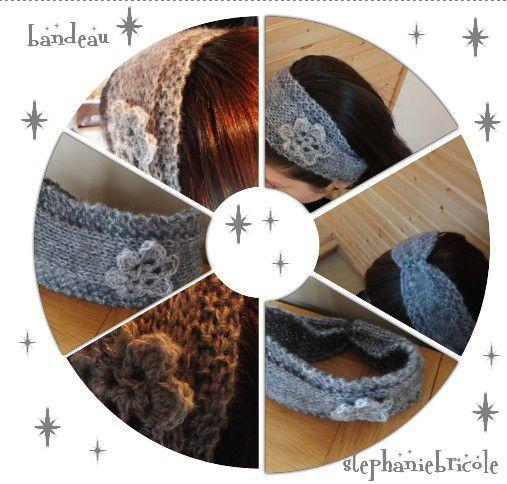 patron tricot bandeau, patron tricot gratuit, comment tricoter un bandeau, modèle de tricot pour débutant: Model, Knit