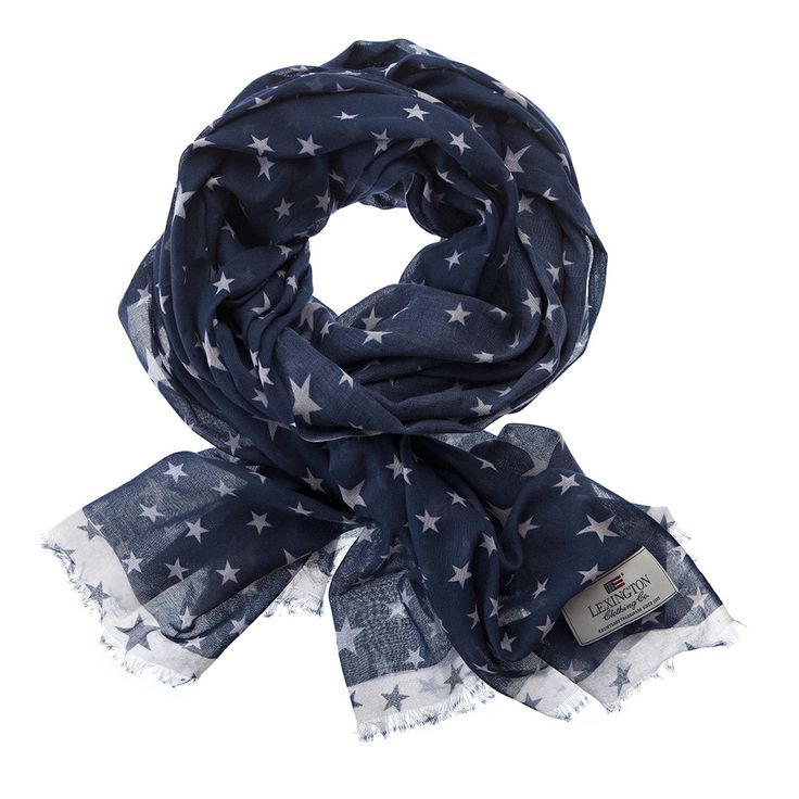 Lexington Starville Scarf - Deepest Blue