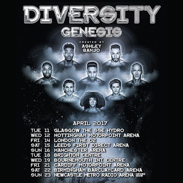 Get your dancing shoes out! @diversity_official are back on tour! Grab your tickets @gigsandtours