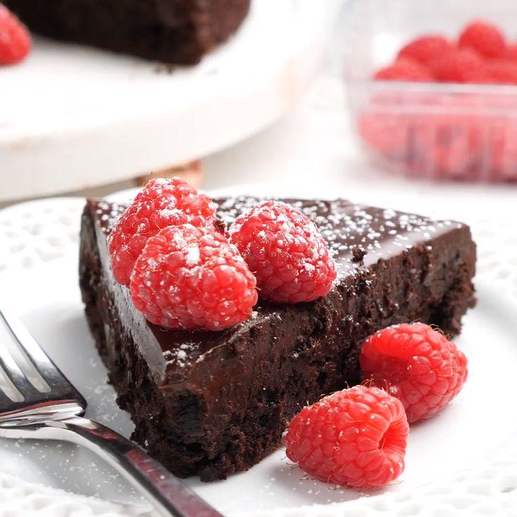 mehlloser Schokoladenkuchen   – Ideas (i will organize this once school is over)