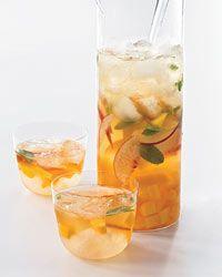 Mango Peach Sangria, YUM!: Summer Drinks, Food, Mangopeach Sangria, Beverages, Yummy, Mangopeachsangria, Cocktails, Sangria Recipes, Mango Peaches Sangria