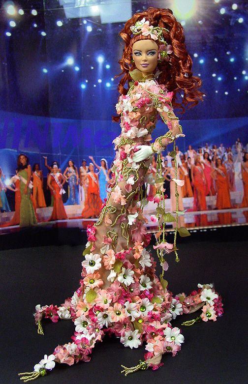 OOAK Barbie NiniMomo's Miss Jamaica 2011