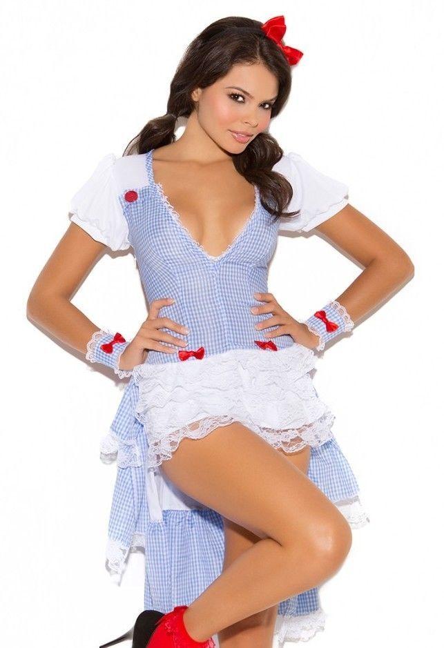 wizard of oz dorothy halloween costume xl women sexy kansas cutie cosplay dorothy oz halloween costumes and costumes - Dorothy Halloween Costume Women