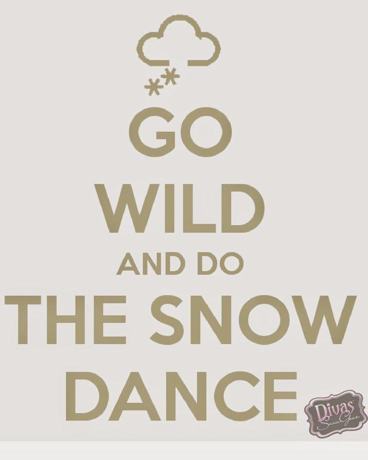 Divas SnowGear: Snow Dance Wednesday!
