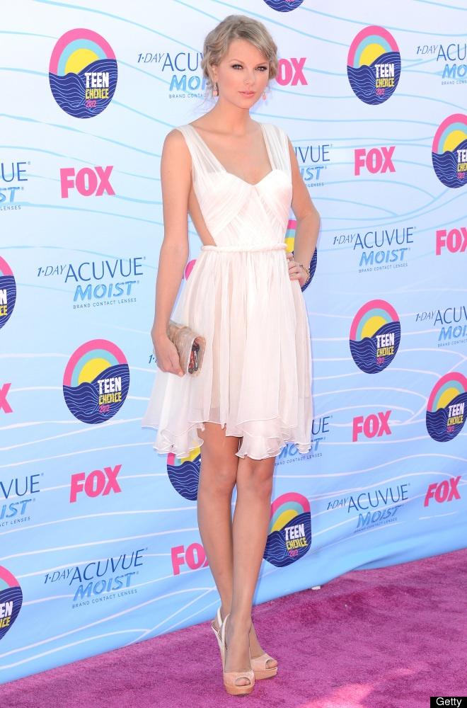 Taylor Swift at the 2012 Teen Choice Awards