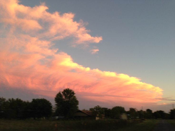 It just never gets old!!! Taken from our driveway...