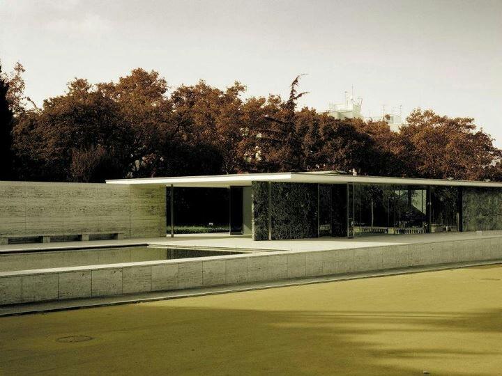 Pavilion Barcelona Photo by Thomas Ruff