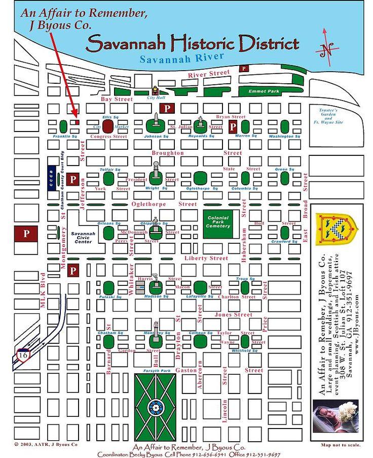 28 best maps of savannah ga images on pinterest savannah georgia