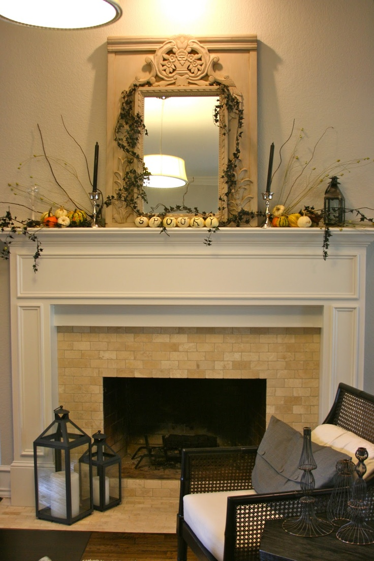 love her fireplace redo
