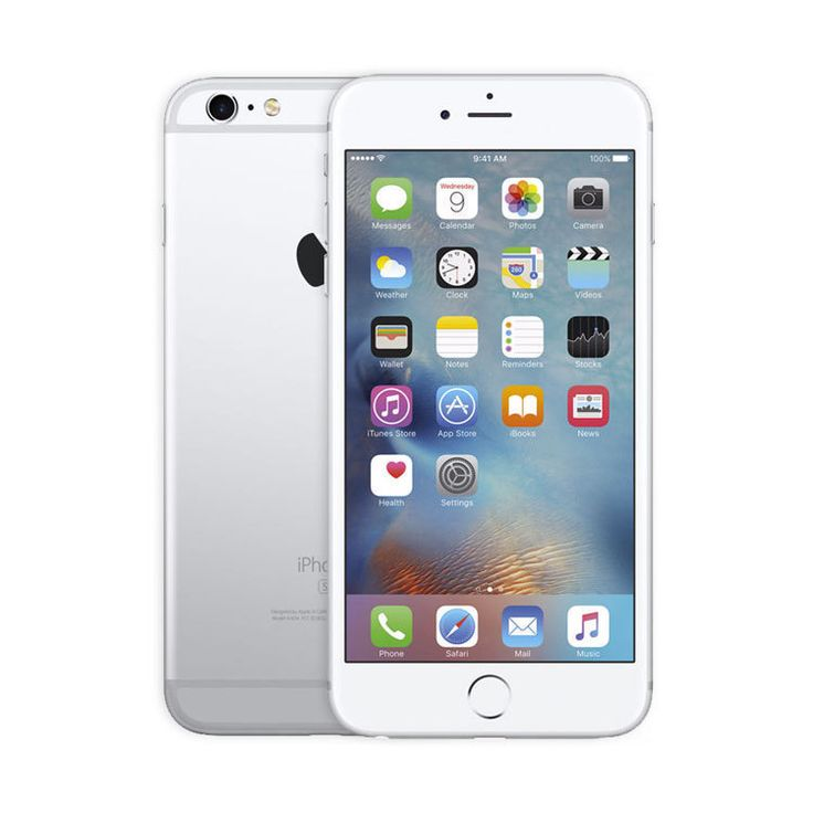 Refurbished iPhone 6S Silver AT&T 128GB