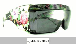 Blossom Oversized Wrap Sunglasses - 165