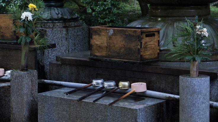 Wooden Box Shrine Okunoin Koyasan