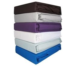 College Ave 100% Cotton Twin XL Sheets - 6 Colors Available Bedding College Extra Long Soft Sleep School
