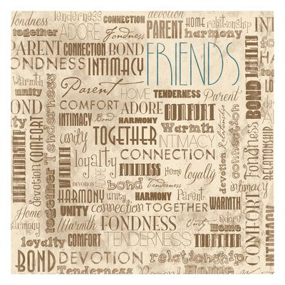 Friends, TV Lámina por Jace Grey en AllPosters.com.ar.