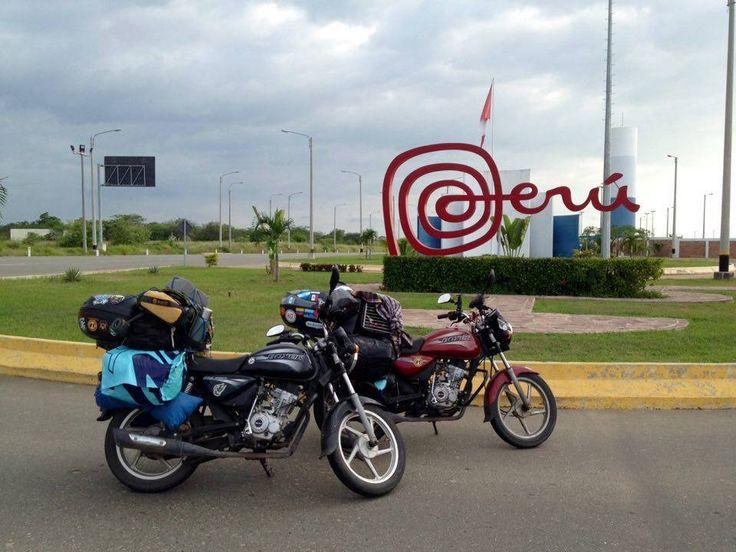 Lima, Perú.- Una pareja de motociclistas, ella francesa y el guatemalteco, recorren el continente en dos motocicletas Bóxer BM150, y van visitado 10 países en los siete meses que llevan en la ruta, siendo el último, hasta ahora, el Perú. Sin embargo, esperan completar su travesía, en nueve meses más, con Brasil como destino final....