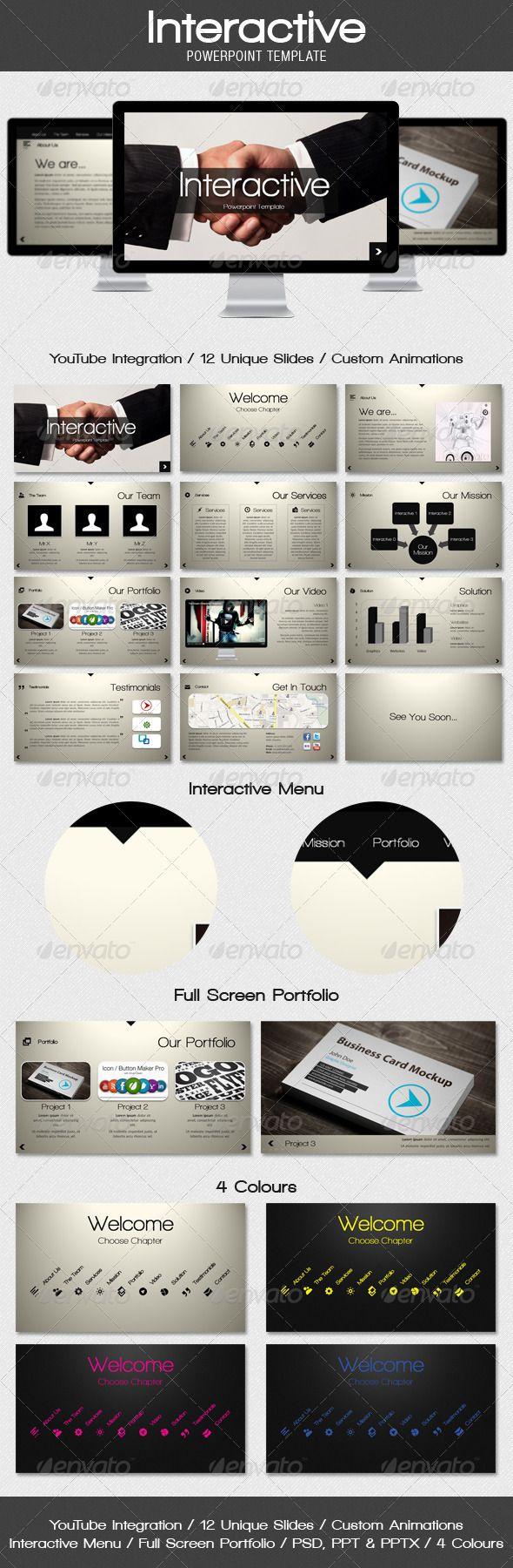 interactive powerpoint presentation