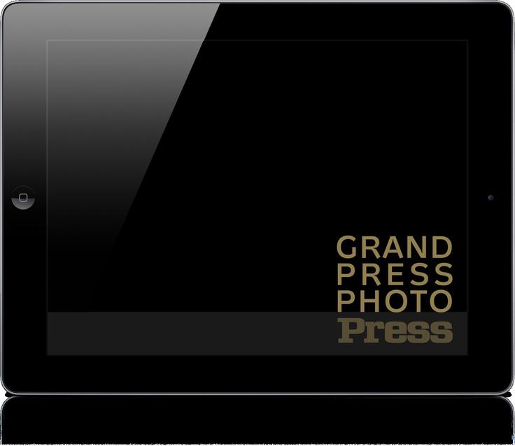 GRAND PRESS PHOTO to album zawierający 156 najlepszych zdjęć prasowych 2010 roku, które trafiły do finału Ogólnopolskiego Konkursu Fotografii Prasowej Grand Press Photo. Wydawca: Press, Wersja iOS.