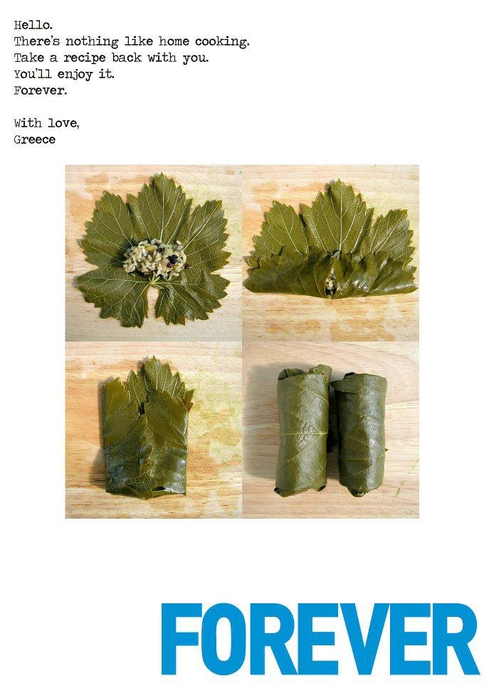 Dolmades and Cooking Forever...Peter Economides' campaign for Greece