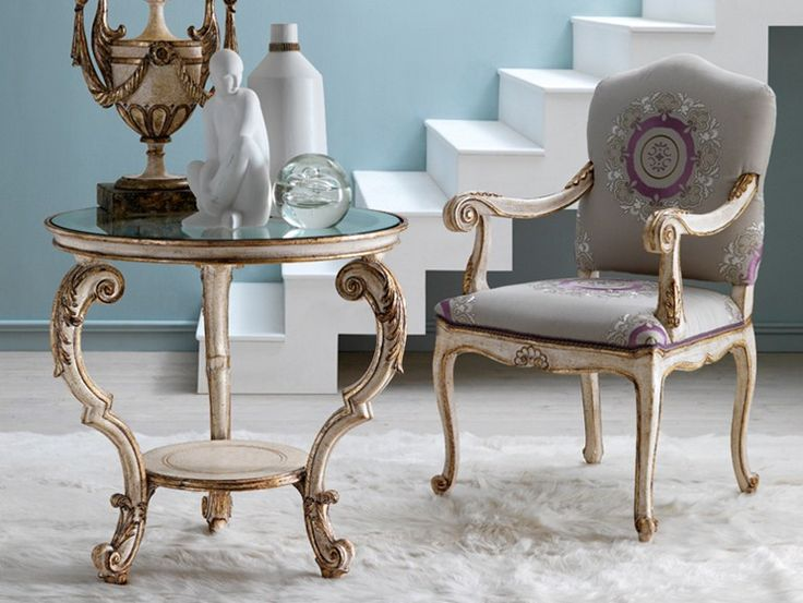 Round side table 3627 | Coffee table by Grifoni Silvano