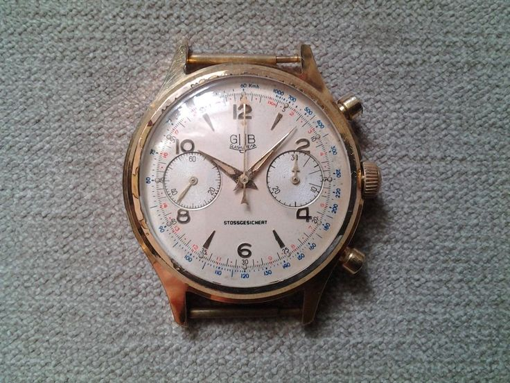 GUB GLASHÜTTE ORIGINAL CHRONOGRAPH CALIBER 64 ULTRA RARITY FOR COLLECTORS #gubGlashtte