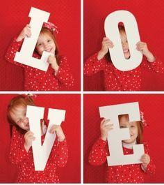 kids valentine's day photoshoot