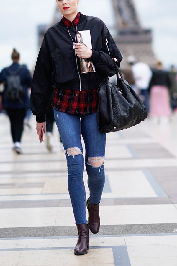 7 Plaid Outfits You'll Want to Copy Immediately via @PureWow