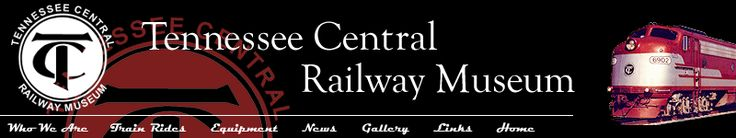 Tennessee Central Railway Museum: trips always include something special - from train robberies, music, civil war reenactments, and on-board murder mysteries to Watertown's famous mile long yard sale and seasonal visits from Santa and the Easter Bunny.