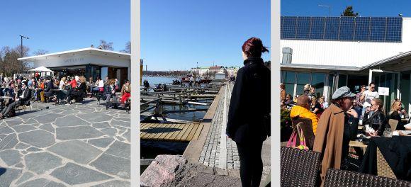 Kaivopuisto (Kaivari) in Helsinki, Finland. Sights, walking tour.