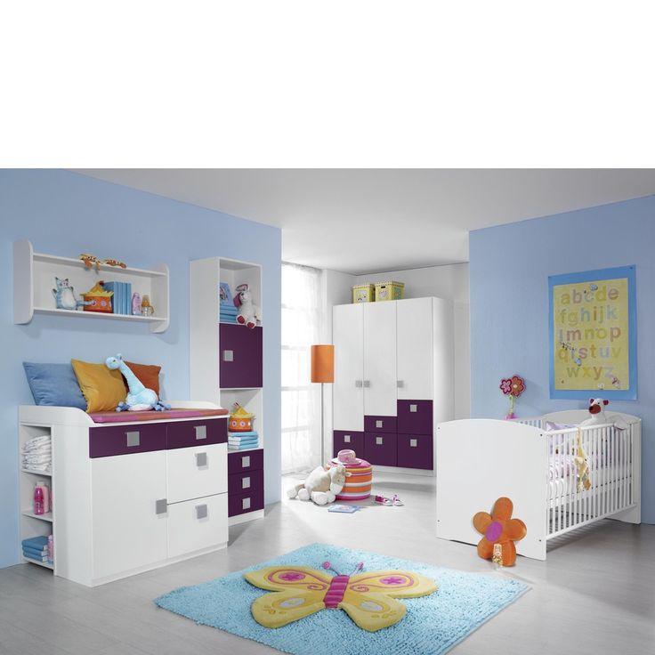 Babybett Skate 70x140 cm Weiß Rauch Kinderzimmer günstig online kaufen