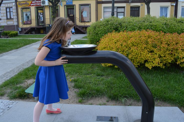 Zdrój HAWS 3360 pasuje do każdej przestrzeni publicznej