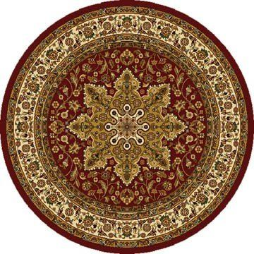 Home Dynamix Royalty 8083-200 Red 5-Feet 2-Inch Round Traditional Area Rug - http://4sweethomes.com/products/home-dynamix-royalty-8083-200-red-5-feet-2-inch-round-traditional-area-rug/