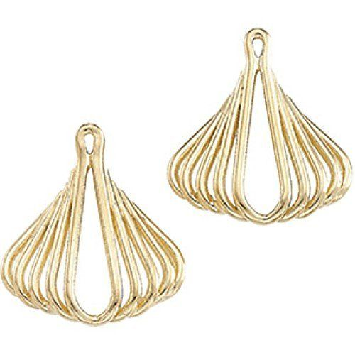 Pair of 14K Yellow Gold Earring Jacket Gems-is-Me. $526.83. FREE PRIORITY SHIPPING. This item will be gift wrapped in a beautiful gift bag. In addition, a 'gift message' can be added.. Save 40%!