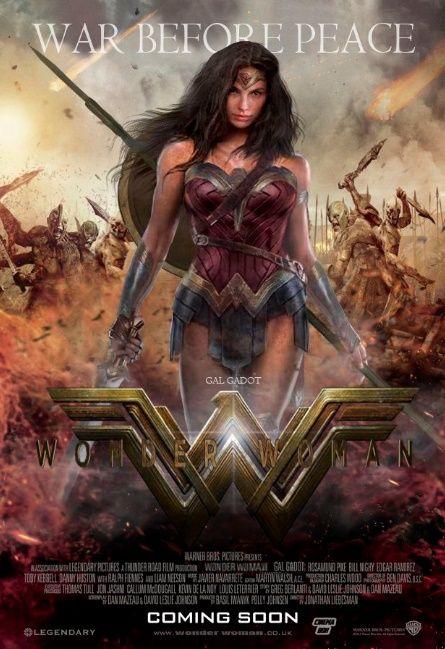 Sinopsis Film Wonder Woman (2017). Film tahun 2017 yang akan menceritakan aksi heroik wanita super.