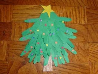 Hand Print Christmas Trees: Handprint Trees, Hands Prints, Christmas Crafts, Hands Christmas, Christmas Trees Crafts, Tree Crafts, Handprint Christmas, Paper Trees, Fun Kids Crafts