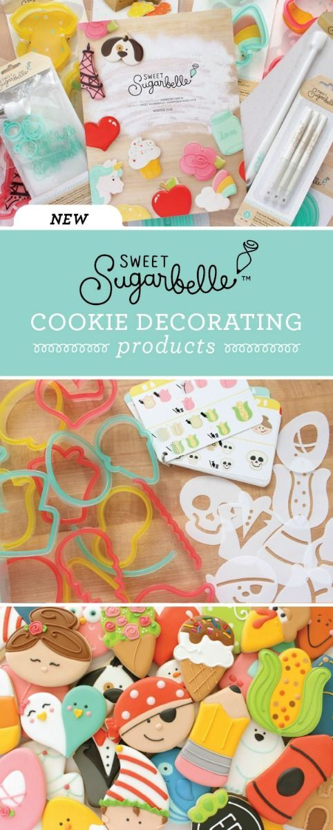 GORGEOUS cookies! I love the Sweet Sugarbelle cookie decorating products! Everything you need to create beautifully decorated cookies at home!