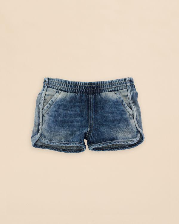 Ralph Lauren Childrenswear Girls' Denim Pull On Shorts - Sizes 2-6X