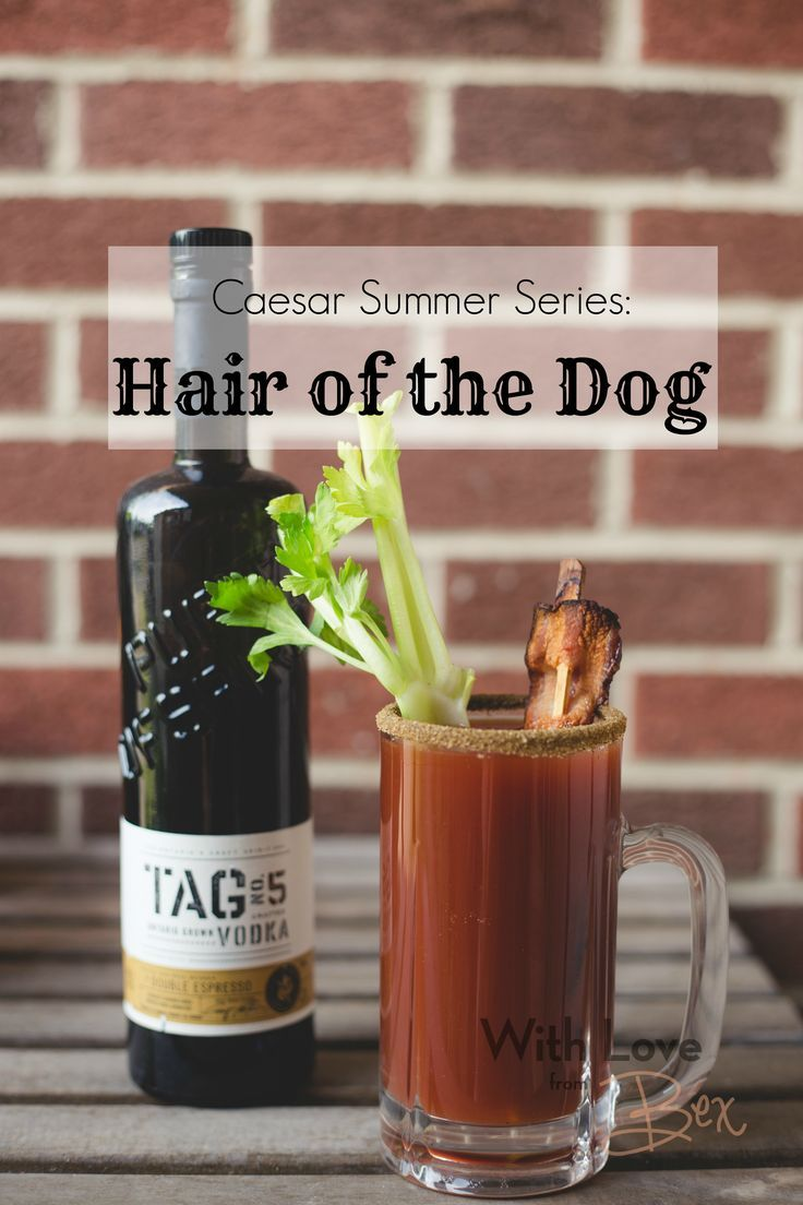 A great hangover cure. Caesar Summer Series: Hair of the Dog