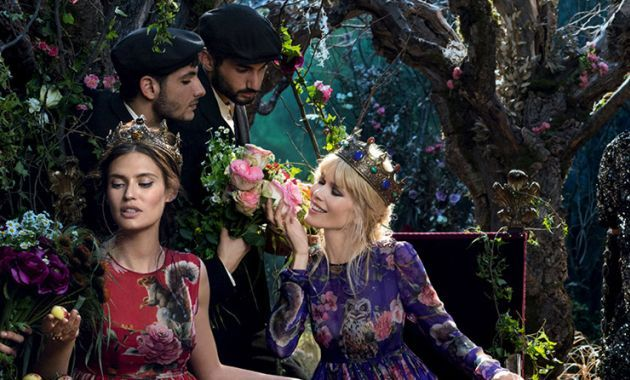 Dolce and Gabbana FW2014 ad campaign