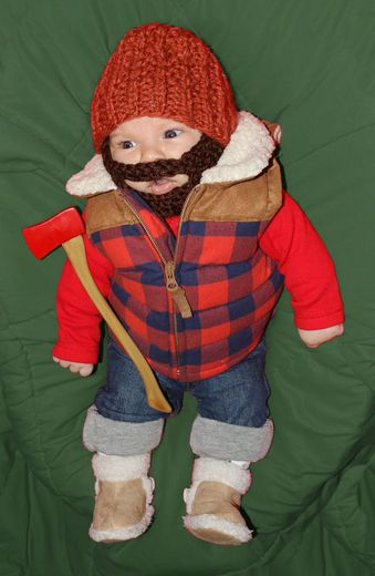 lumberjack costume baby halloween lumberjack costume diy halloween costume diy baby halloween costumes & Zucchini Summer: Friday Funnies: Halloween Costumes