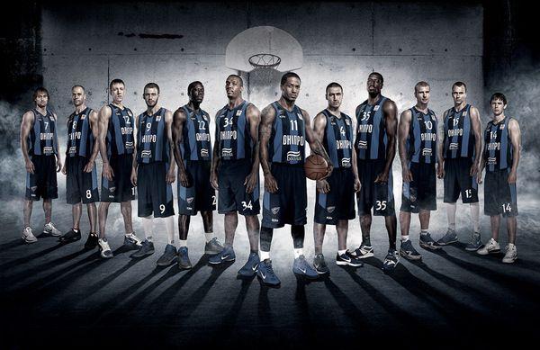 Basketball team poster BC Dnipro by Anatoly Kasyan, via Behance